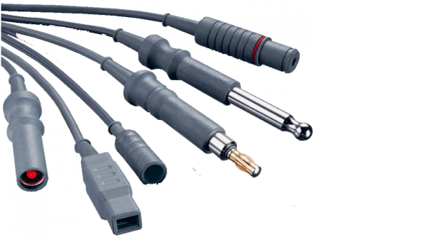 Kabely k neutrálním elektrodám
