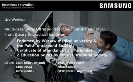 Webinář: Multi-parametric Ultrasound for Liver, Carotid and MSK