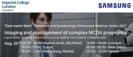 Webinář: Imaging and management of complex MCDA pregnancy